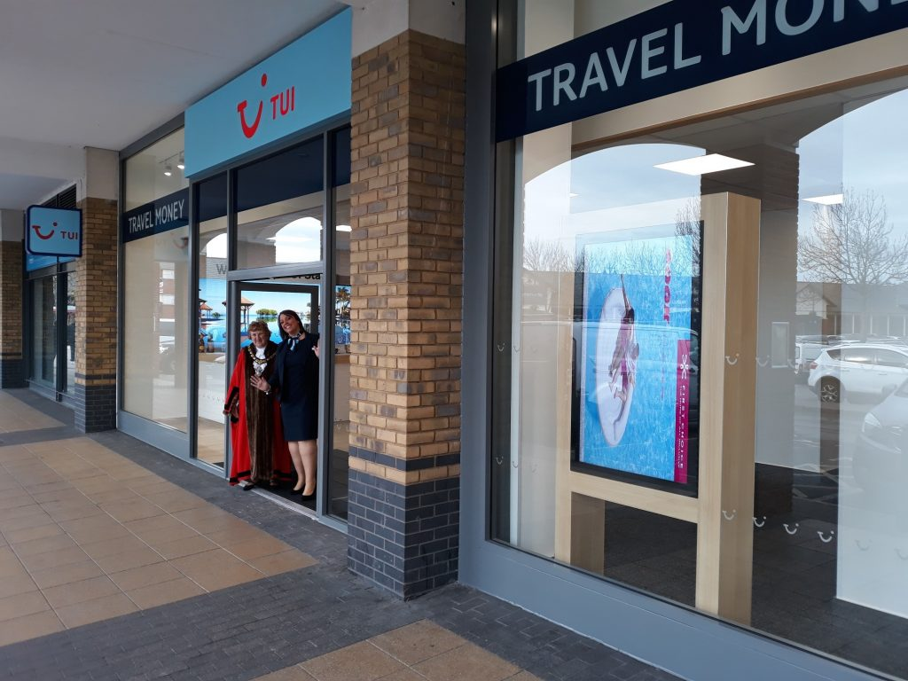 TUI relocates store to accommodate Lidl at Two Rivers Shopping Centre