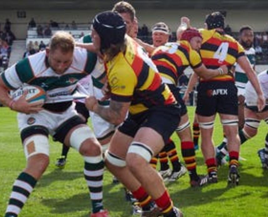 Richmond Rugby v London Irish on Good Friday