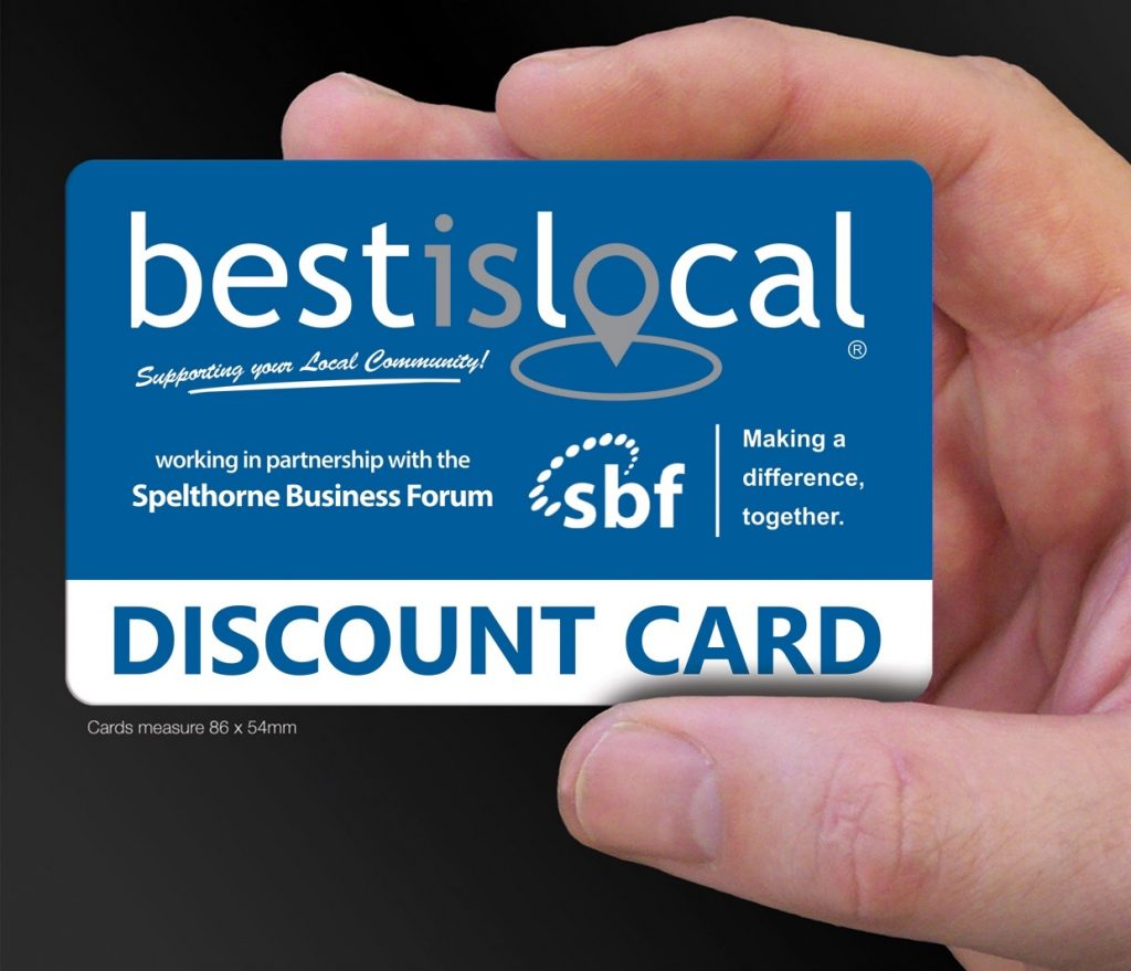 The launch of the Best is Local Discount Card in partnership with the SBF