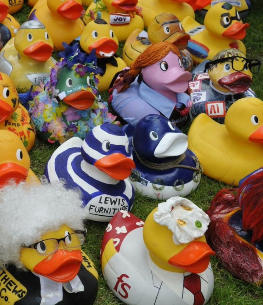 Get your ducks for the Midas Plus Duck Race and support local charities.