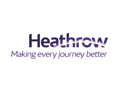 Heathrow logo square background