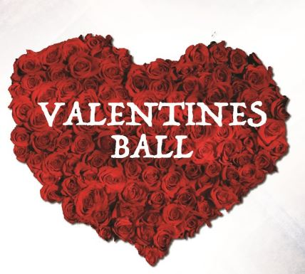 Join our Valentines ball for local Charities.