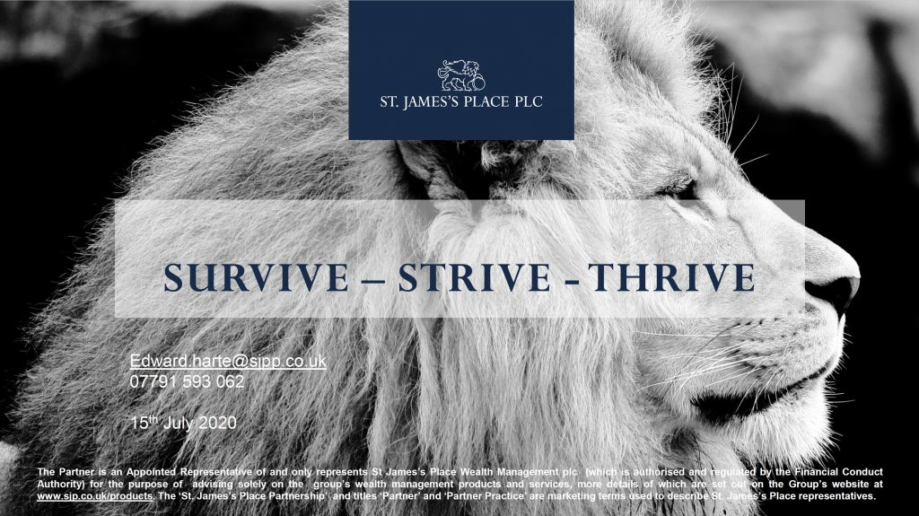 SURVIVE – STRIVE – THRIVE – Staines Rotary – Spelthorne Business Forum