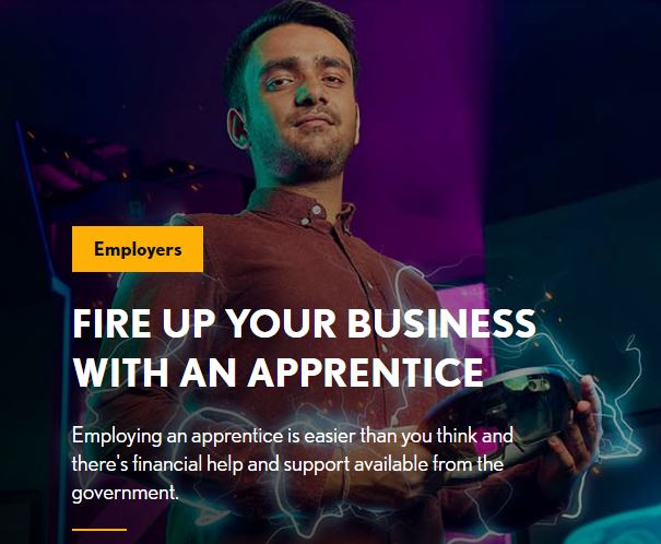 RECIEVE £2000 TO HIRE NEW APPRENTICES BETWEEN 1 AUGUST 2020 AND 31 JANUARY 2021
