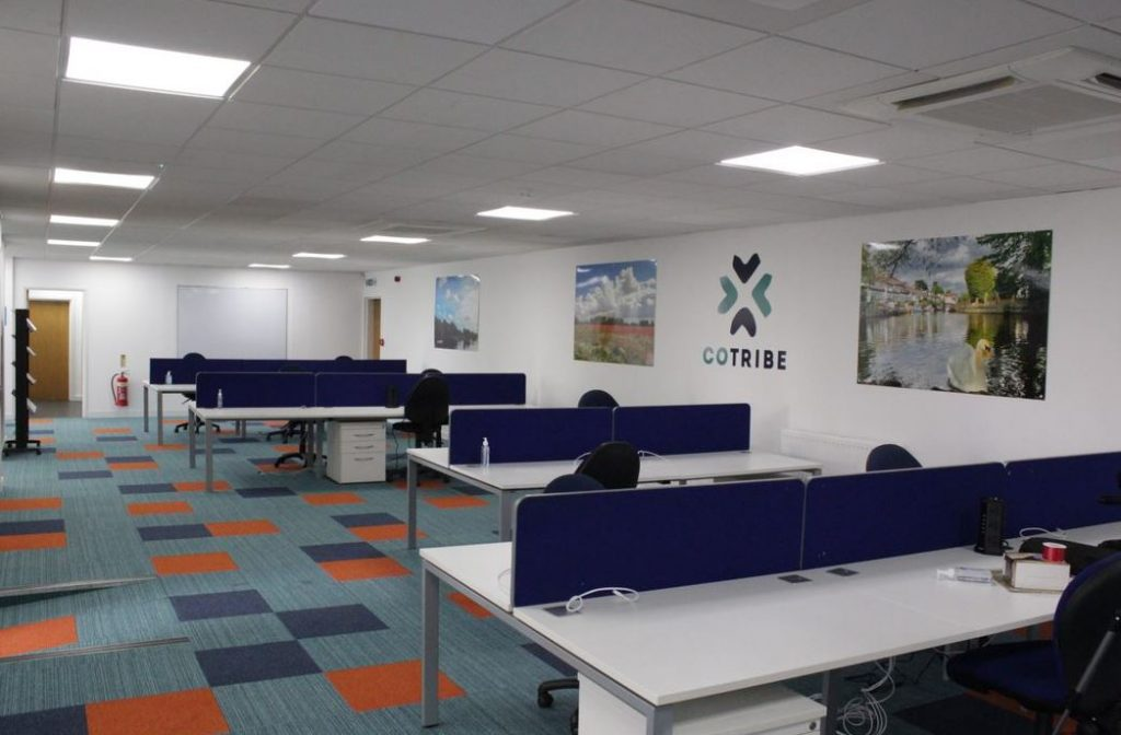 The Spelthorne Business Hub opened its doors in Sunbury on Thames